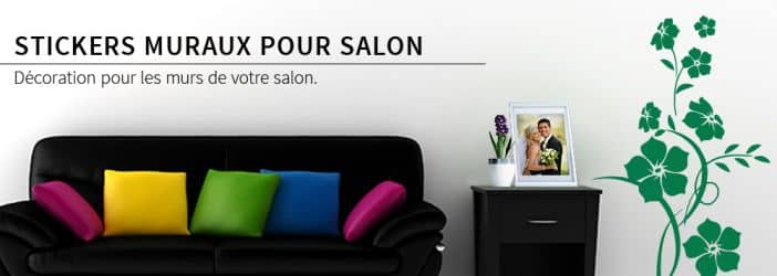 boutique en ligne de stickers muraux pour salon wall. Black Bedroom Furniture Sets. Home Design Ideas