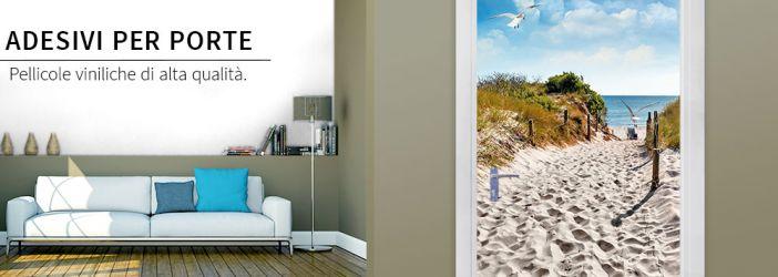 Adesivi per porte wall for Specchi adesivi per porte