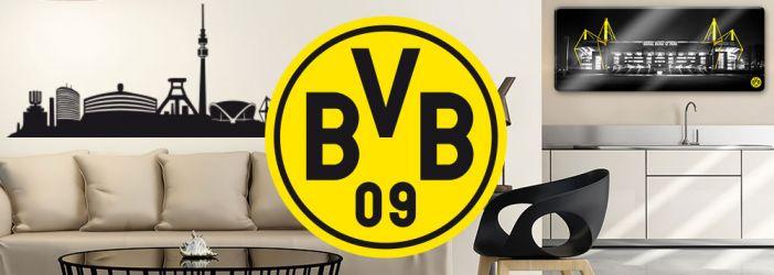 Borussia Dortmund Wanddekoration