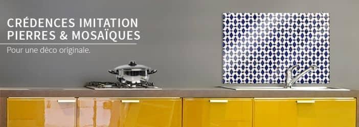 cr dences en verre mosa ques carrelages et pierres wall. Black Bedroom Furniture Sets. Home Design Ideas