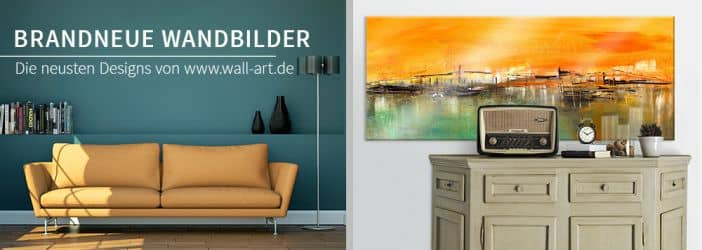 brandneu tolle neue wandbilder wall. Black Bedroom Furniture Sets. Home Design Ideas