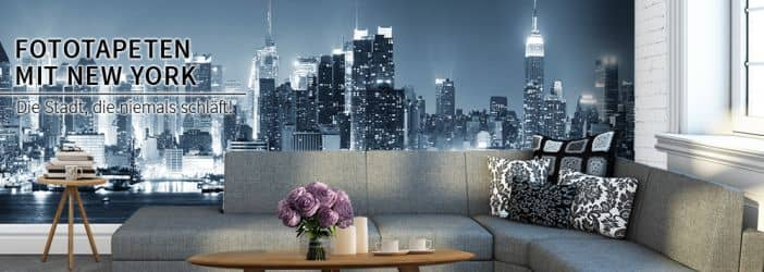 fototapeten mit new york motiven wall. Black Bedroom Furniture Sets. Home Design Ideas