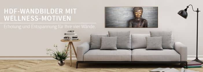 hdf wandbilder mit wellness motiven wall. Black Bedroom Furniture Sets. Home Design Ideas