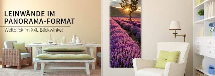 leinwandbilder im panorama format wall. Black Bedroom Furniture Sets. Home Design Ideas