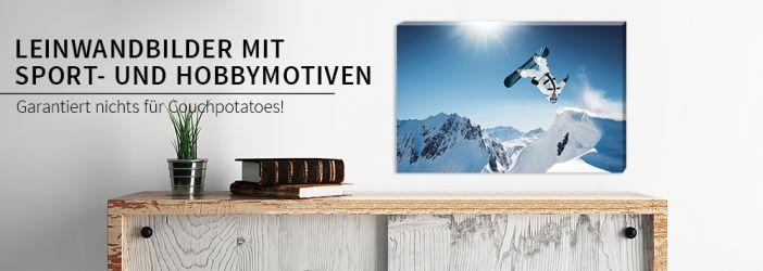 leinwandbilder mit sport und hobbymotiven wall. Black Bedroom Furniture Sets. Home Design Ideas