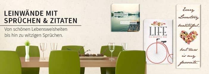 Leinwandbilder mit spr chen und zitaten wall - Leinwandbilder schlafzimmer ...
