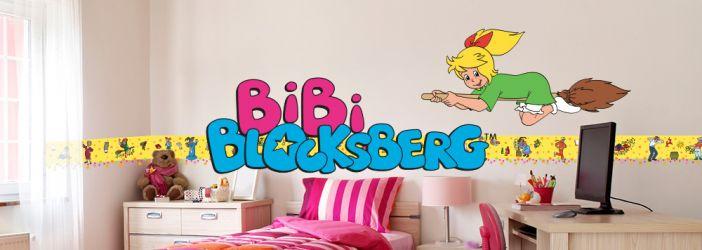 Bibi Blocksberg Wandtattoos & Wandbilder
