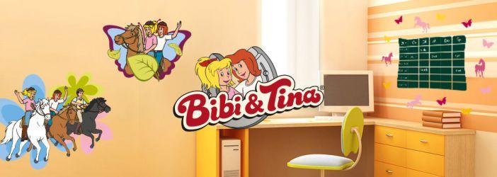 Bibi&Tina Wandtattoos