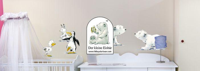 Der kleine Eisbär Lars Wandtattoos