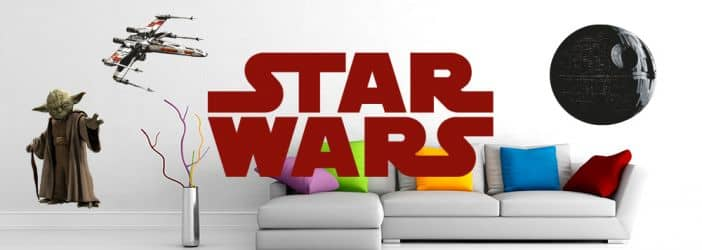 star wars fanshop wandtattoos mit star wars motiven wall. Black Bedroom Furniture Sets. Home Design Ideas