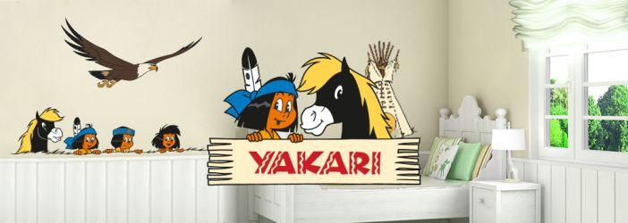 Yakari Wandtattoos & Fototapeten