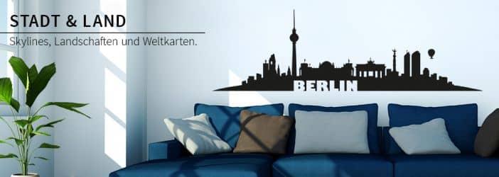 wandtattoo skyline wandtattoos st dte wall art. Black Bedroom Furniture Sets. Home Design Ideas