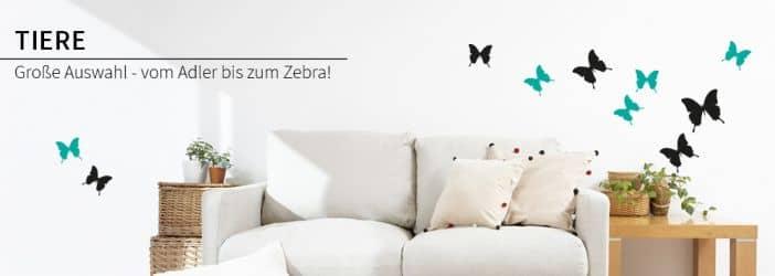 wandtattoo tiere wall art wandtattoos klebetattoos bestellen wall. Black Bedroom Furniture Sets. Home Design Ideas