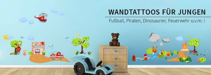 wandtattoos f r jungs wandtattoo wall art wandtattoos. Black Bedroom Furniture Sets. Home Design Ideas