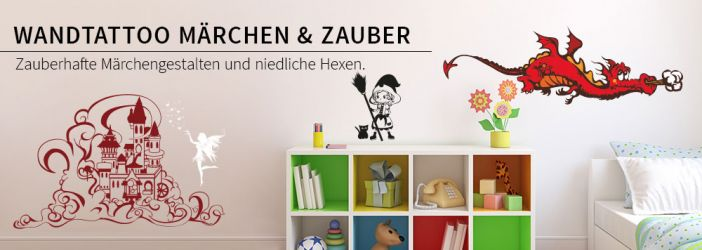 Wandtattoo Zauber & Märchen