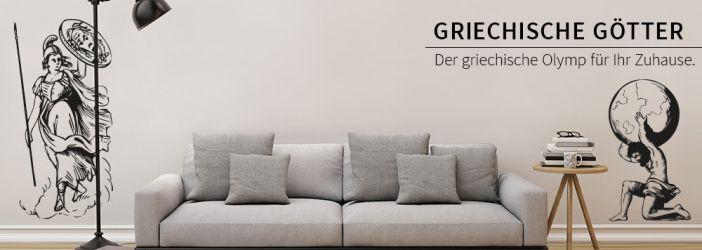 Dekoration Griechische G Tter Wandtattoo Wall Art