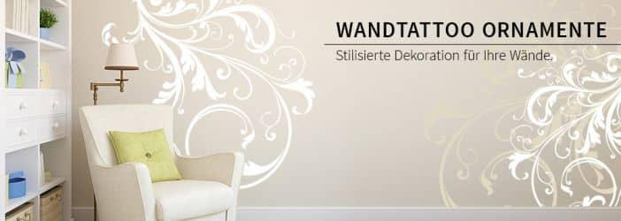 Wandaufkleber ornamente wandtattoo wall art wandtattoos bestellen deko idee und - Wandtattoos ornamente ...