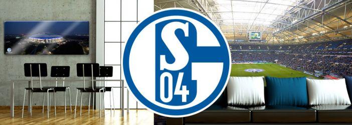 FC Schalke 04 Wandtattoos, Wandbilder & Fototapeten