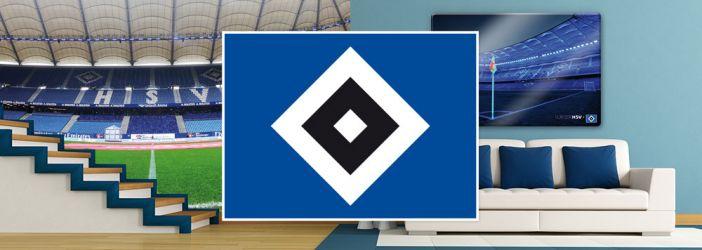 Hamburger SV Wandtattoos, Wandbilder & Fototapeten