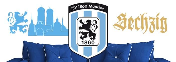1860 München Wandtattoos