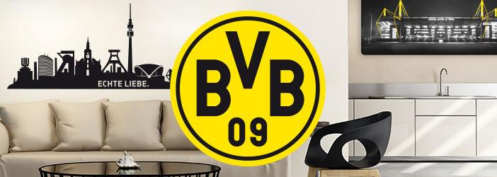 Borussia dortmund wandtattoo borussia dortmund deko bvb shop wall - Wandtattoo dortmund ...