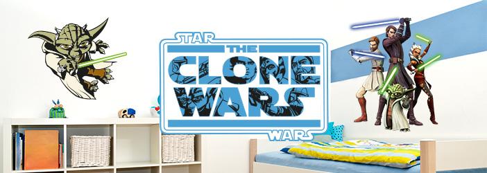 Wandtattoo The Clone Wars