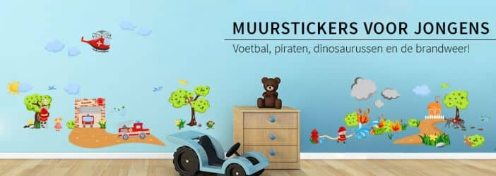 muurstickers baby kinderen jongenskamer shop wall. Black Bedroom Furniture Sets. Home Design Ideas