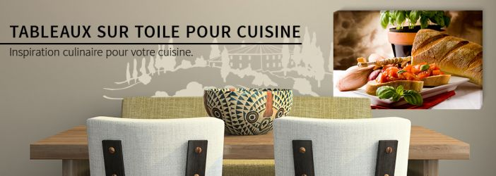 tableaux sur toile pour la cuisine wall. Black Bedroom Furniture Sets. Home Design Ideas