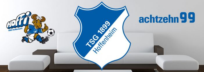 1899 Hoffenheim Wandtattoos