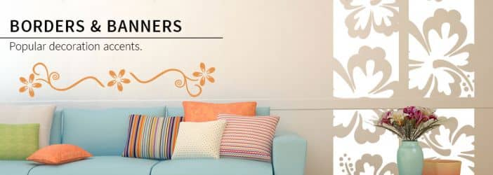 Borders & Banners Wall Stickers