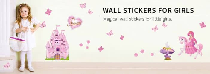 Wall stickers for girls.