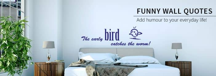 Wall Stickers Quotes Words Funny Shop Wall