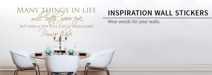 Wall Stickers Quotes Words Inspiration Shop Wall