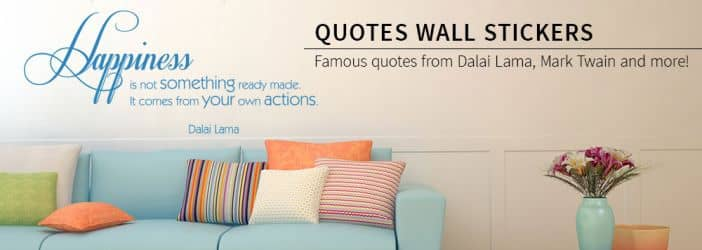 wall stickers quotes words quotes shop wall art com