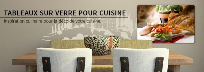 Boutique en ligne de tableaux sur verre pour la cuisine Verre pour porte de cuisine