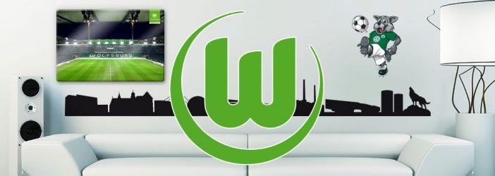 VfL Wolfsburg Wandtattoos, Wandbilder & Fototapeten