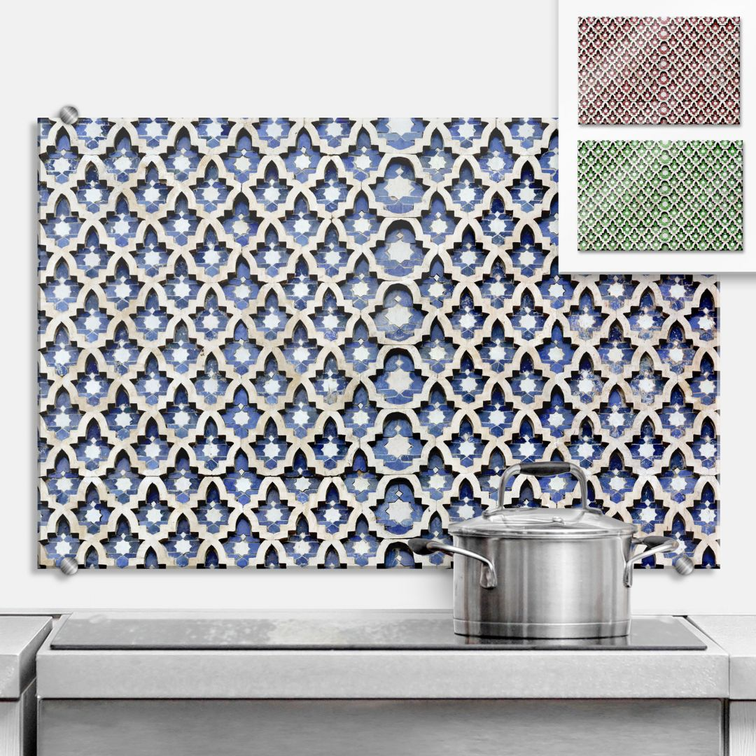 Moroccan Wall - Kitchen Splashback