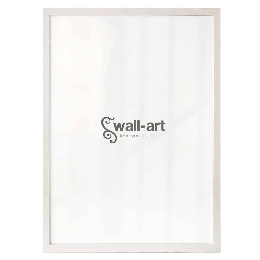 Poster Frame Woodland III - Maple white
