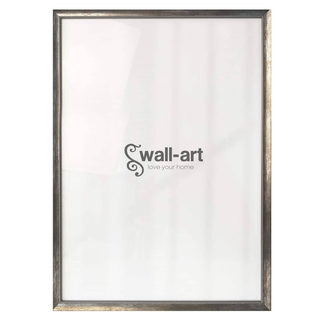 Poster Frame Pearl Anthracite with pearly edge
