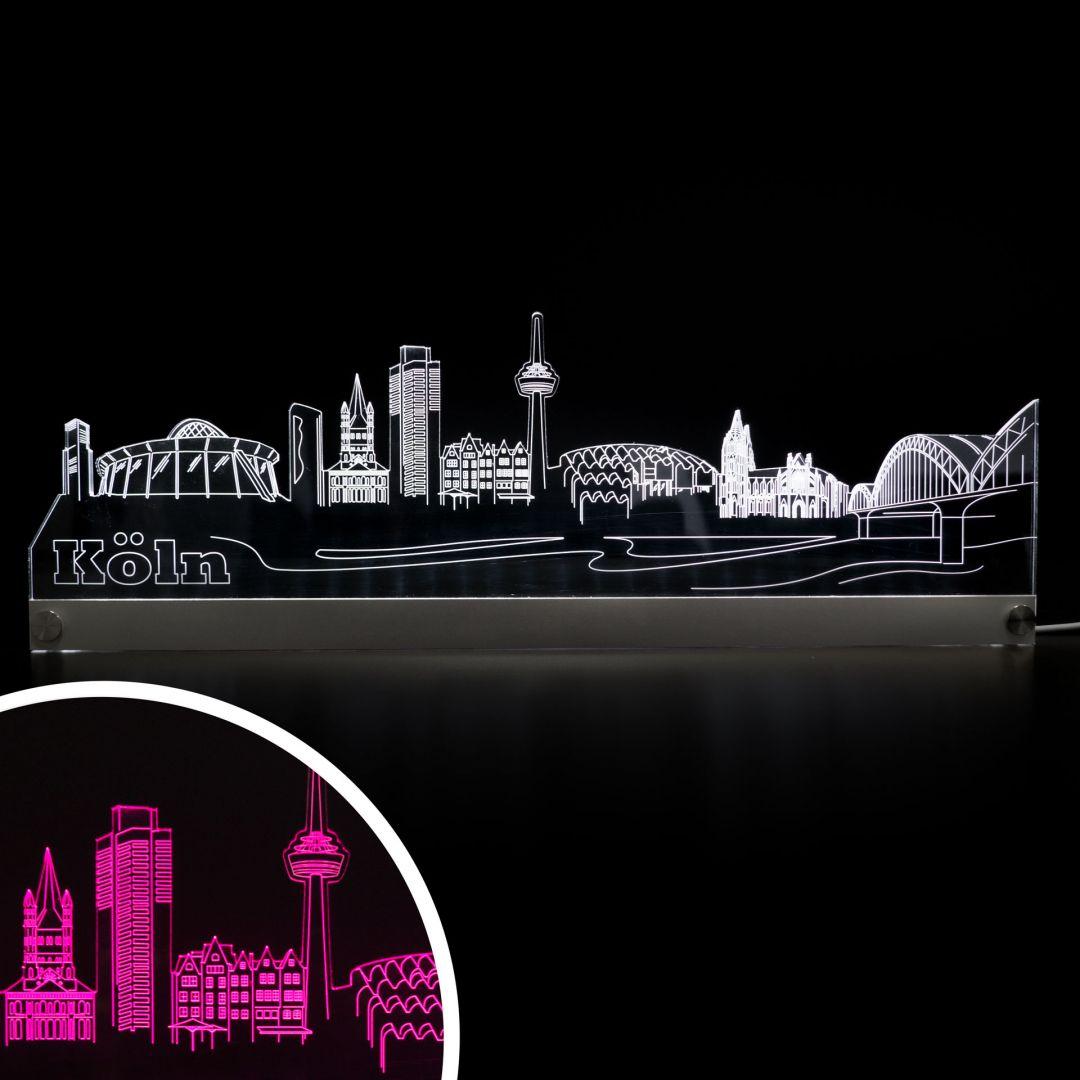 LED Skyline Köln