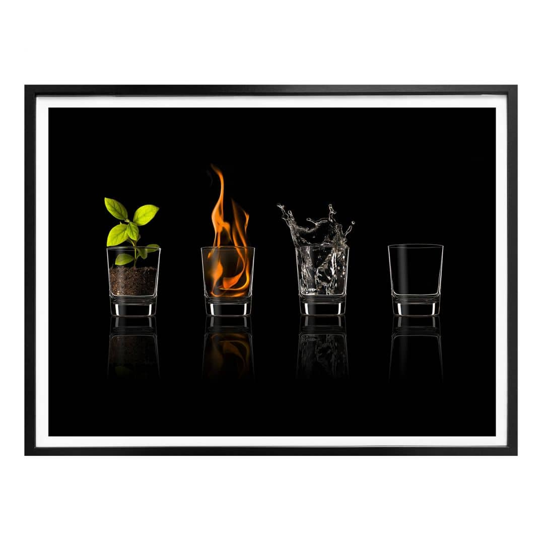 Poster Frutos Vargas - The Four Elements