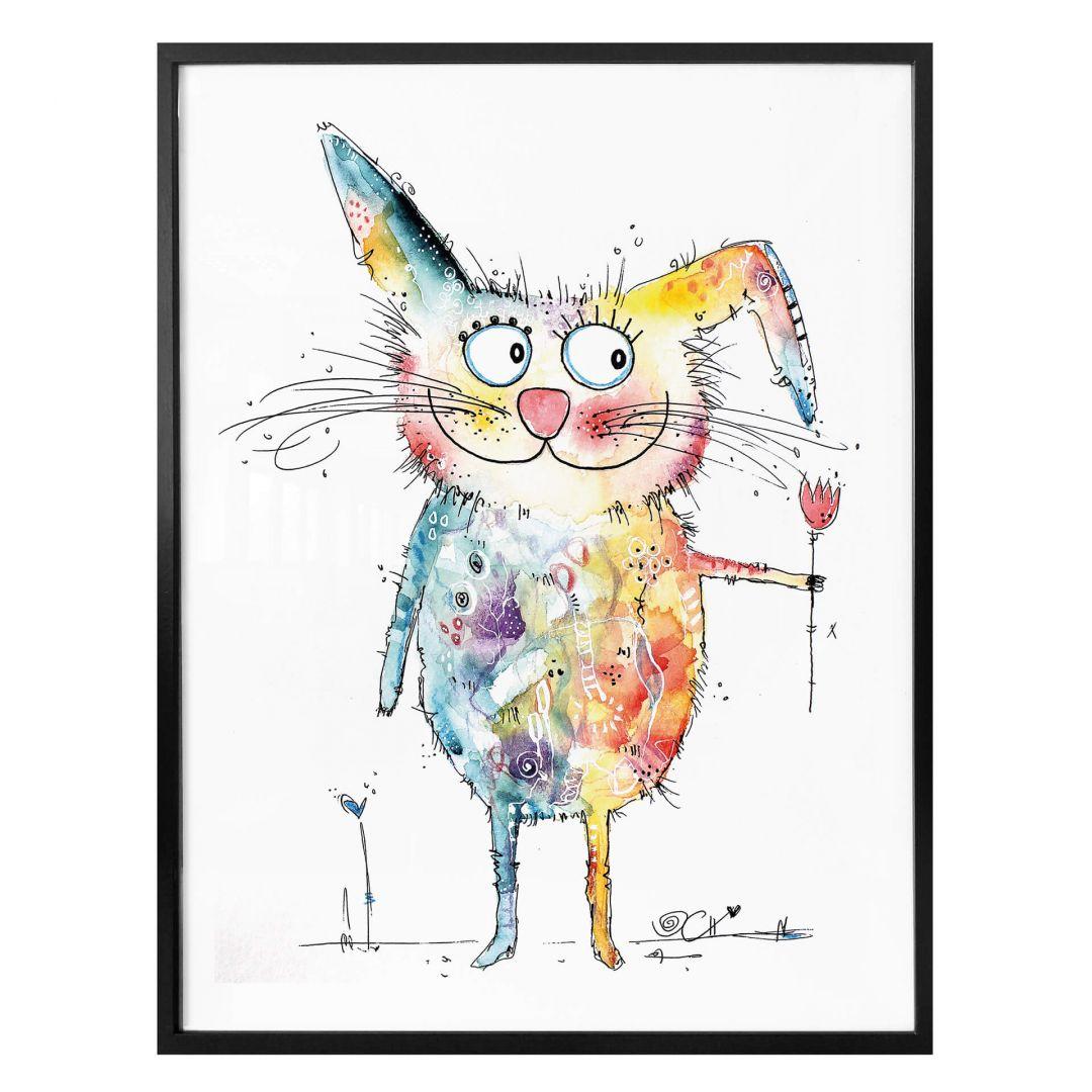 Poster Hagenmeyer - Happy Rabbit