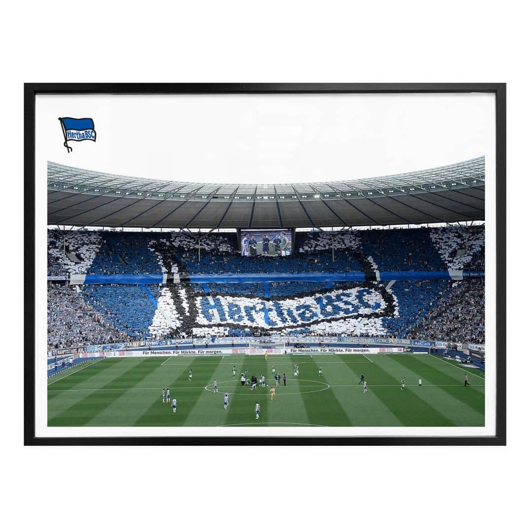 Poster Hertha BSC - Spielstart im Stadion