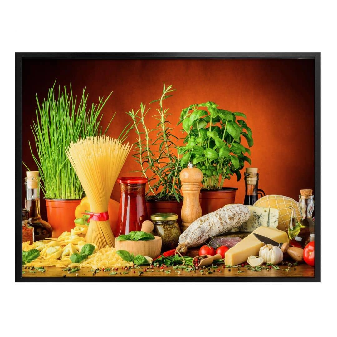Poster Italiaanse Keuken
