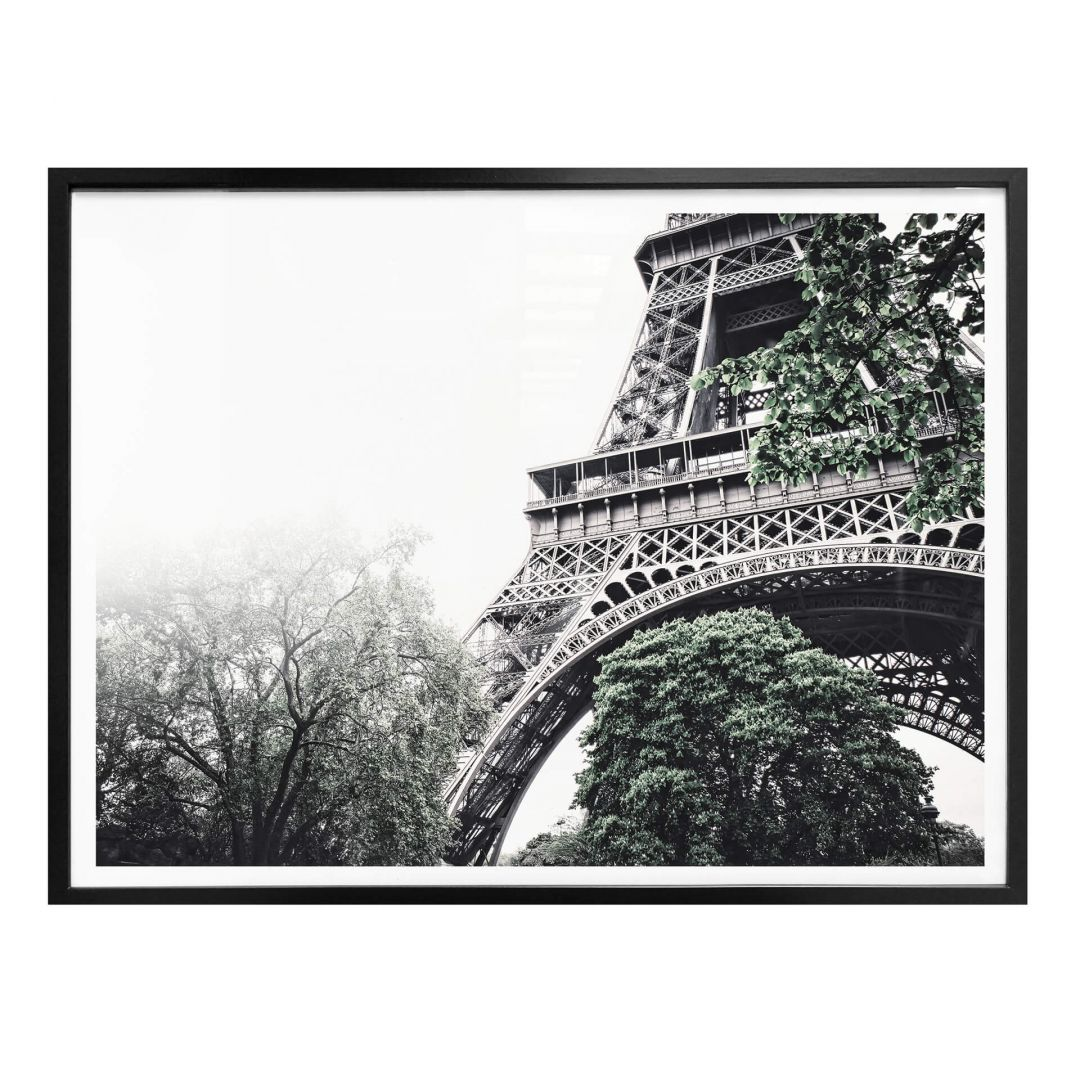 Poster Nebel in Paris