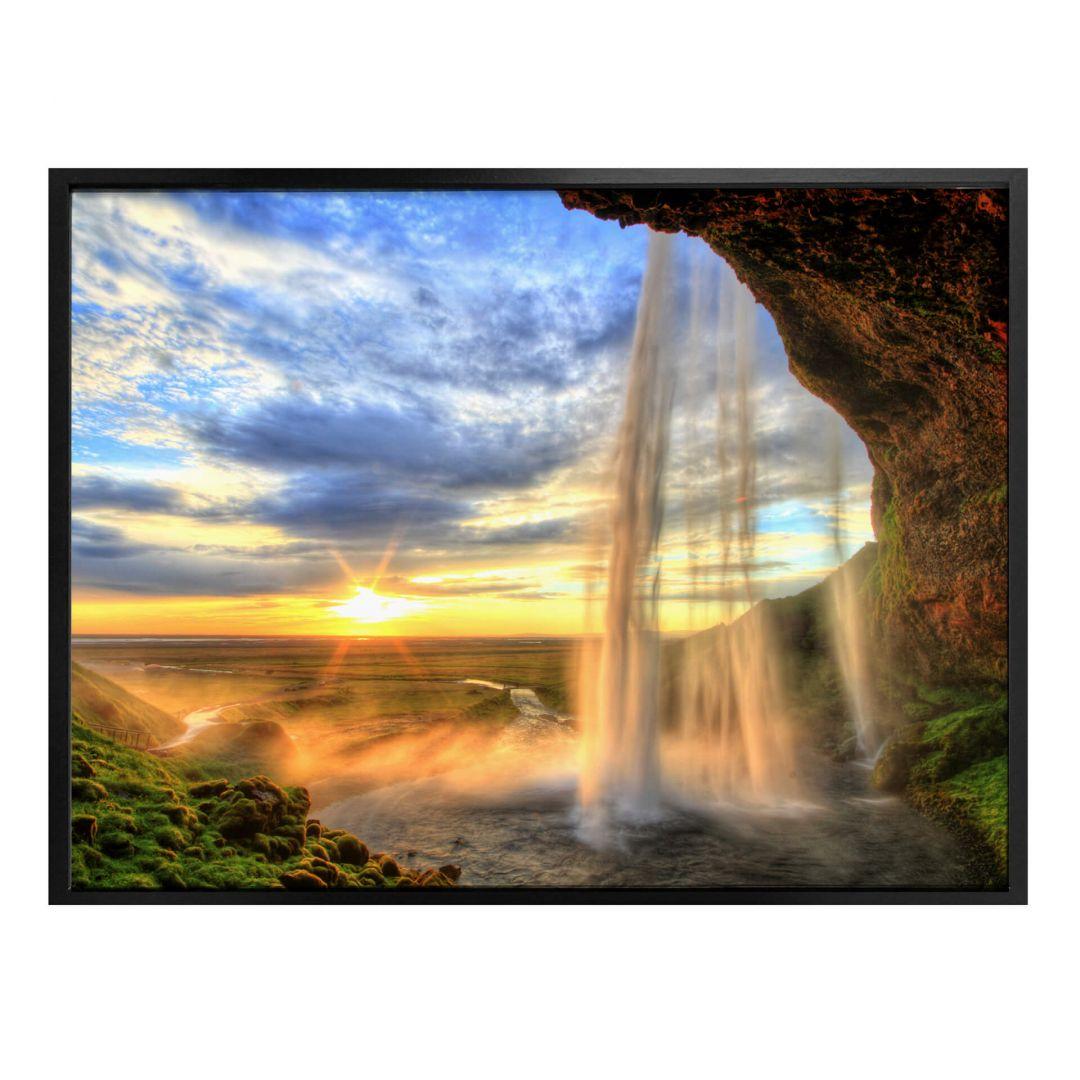 Poster Seljalandsfoss Watervallen