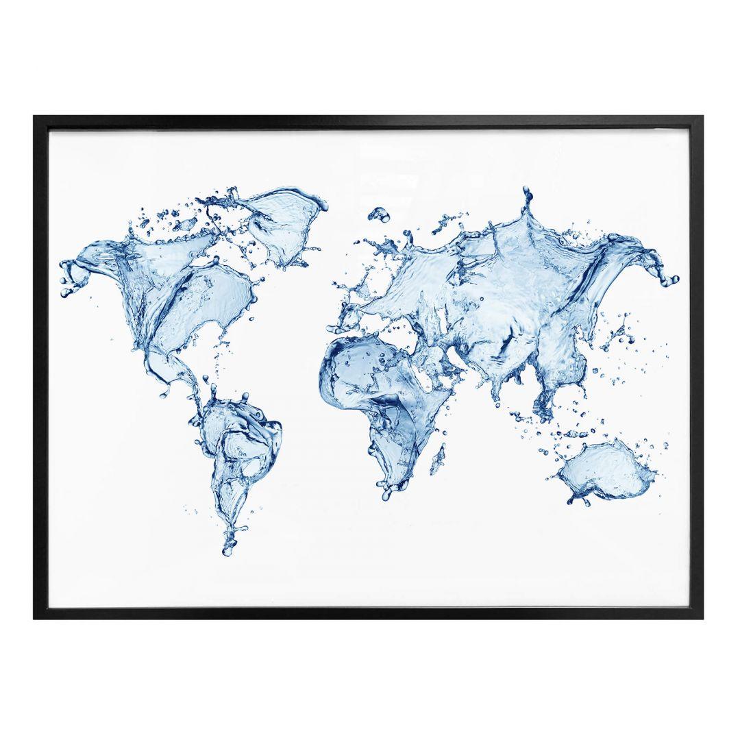 Poster Splashing World