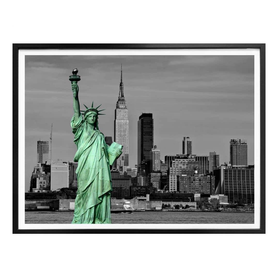 Poster Vrijheidsbeeld