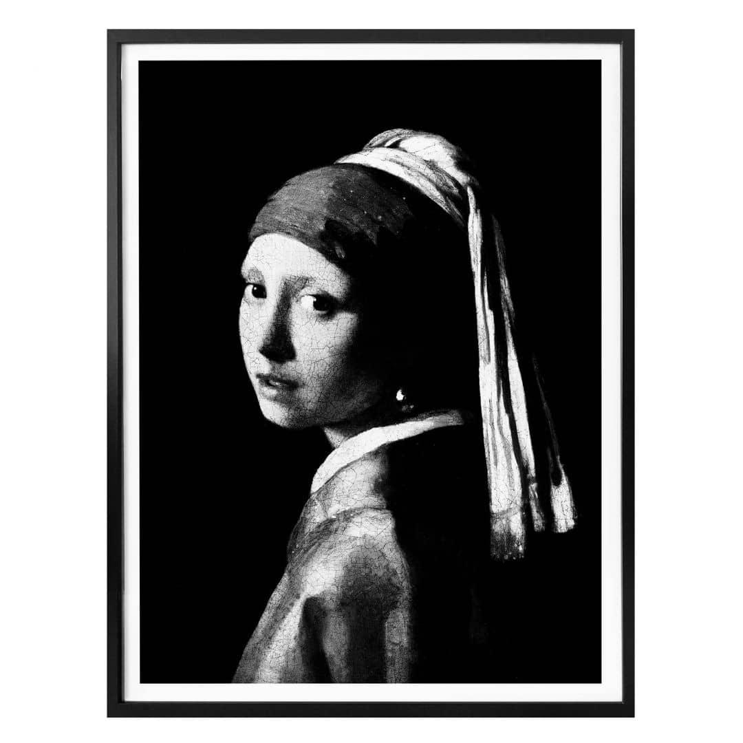 Poster Vermeer - Het meisje met de parel