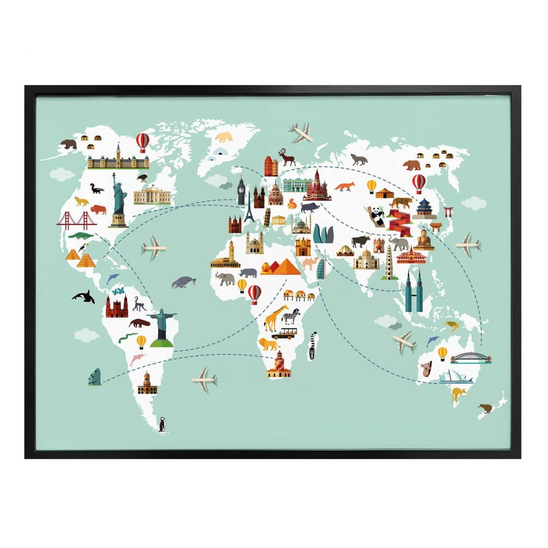 Poster Travel the World